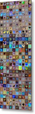 Skyscraper Series Seven Eight Nine Hundred Metal Print by Boy Sees Hearts