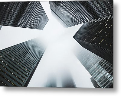 Skyscrapers Metal Print