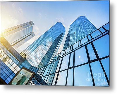 Skyscrapers Metal Print by JR Photography