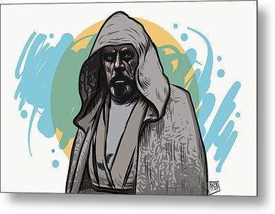 Metal Print featuring the digital art Skywalker Returns by Antonio Romero