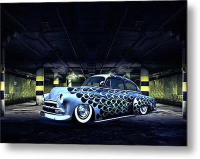 Metal Print featuring the photograph Slammed by Steven Agius