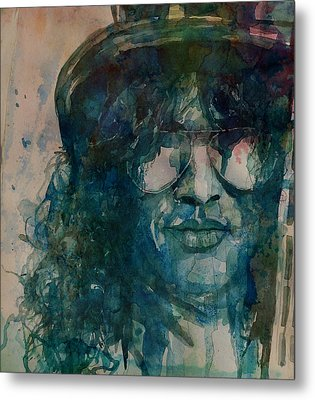 Metal Print featuring the painting Slash  by Paul Lovering