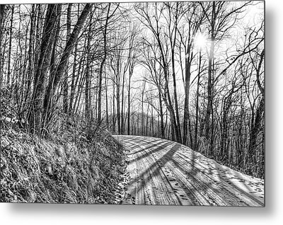 Sleep Hallow Road Metal Print