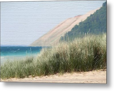 Sleeping Bear Sand Dune Metal Print by Dan Sproul