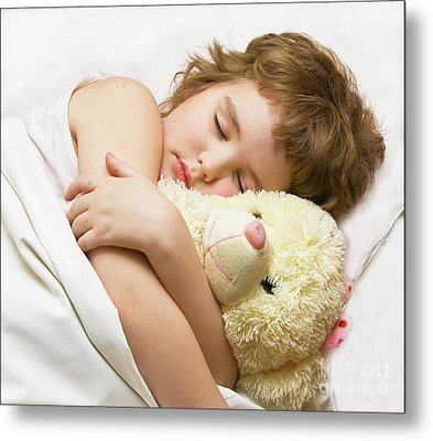 Sleeping Boy Metal Print