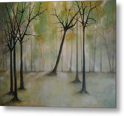 Sleeping Trees Metal Print by Tamara Bettencourt