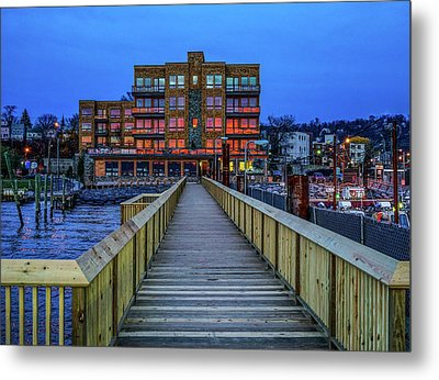 Sleepy Hollow Pier Metal Print