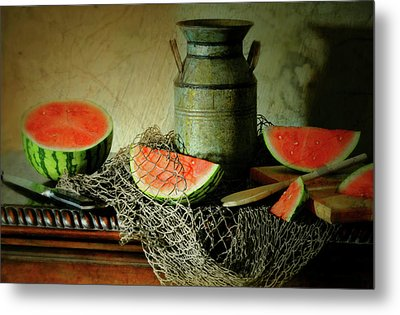 Slice Of Life Metal Print by Diana Angstadt
