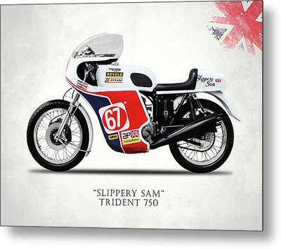 Slippery Sam Production Racer Metal Print by Mark Rogan
