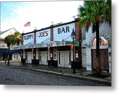 Sloppy Joe's Bar Key West Metal Print by Bill Cannon
