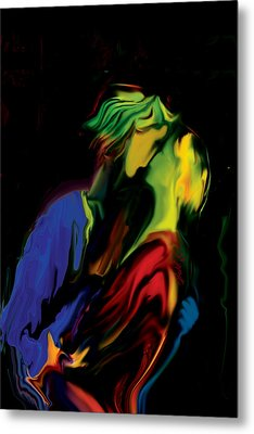 Slow Dance Metal Print by Rabi Khan