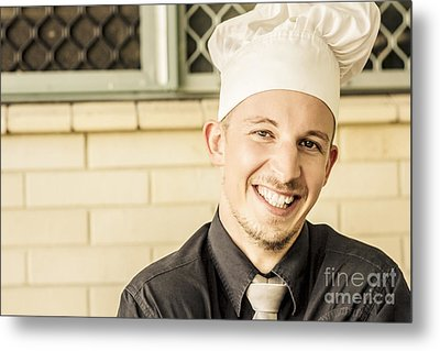 Small Business Owner Metal Print by Jorgo Photography - Wall Art Gallery