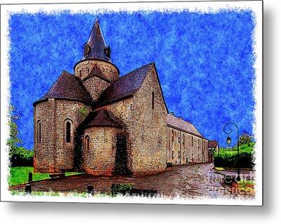 Small Church 2 Metal Print by Jean Bernard Roussilhe