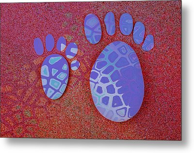 Small Feet And Big Feet 27 Metal Print by Jean Francois Gil