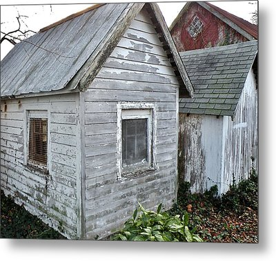 Small Sheds In Milton Delaware Metal Print