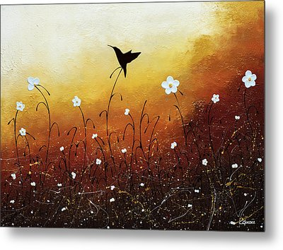 Metal Print featuring the painting Small Treasure by Carmen Guedez