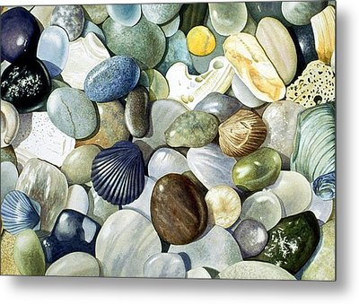 Metal Print featuring the painting Small World by Bob Nolin