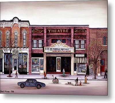 Smalley's Theater, Cooperstown, N.y. Metal Print
