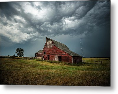 Metal Print featuring the photograph Smallville by Aaron J Groen