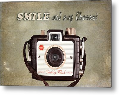 Smile And Say Cheese Metal Print by Tom Mc Nemar