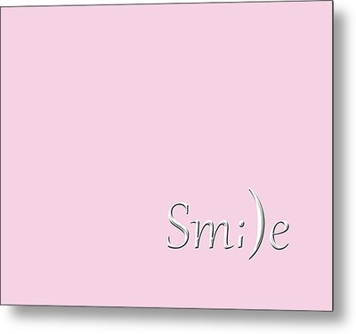 Metal Print featuring the photograph Smile by Cherie Duran
