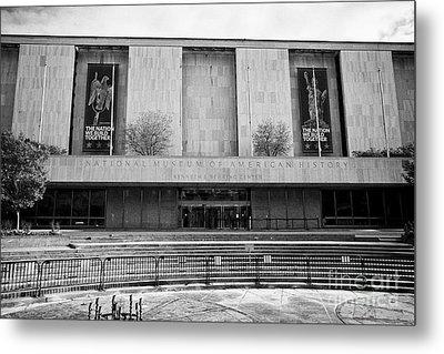 smithsonian national museum of american history kenneth behring center Washington DC USA Metal Print by Joe Fox