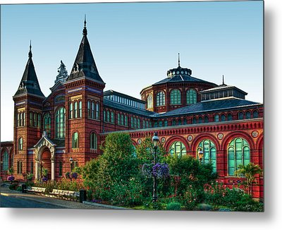 Smithsonian's Arts And Industries Building Metal Print