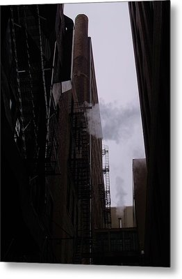 Smoke And Steam I Metal Print by Anna Villarreal Garbis
