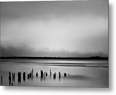 Smoke On The Water Metal Print by Wallaroo Images