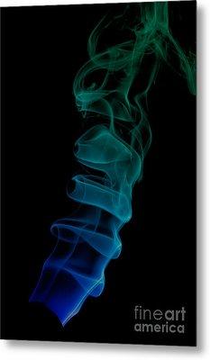smoke XIX ex Metal Print by Joerg Lingnau