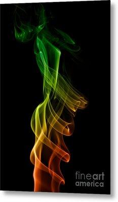 smoke XXII Metal Print by Joerg Lingnau