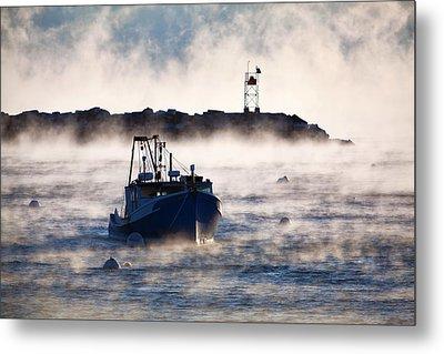 Smokey Rye Harbor Metal Print