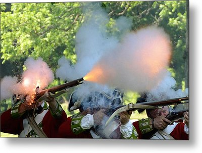 Smoking Guns Metal Print