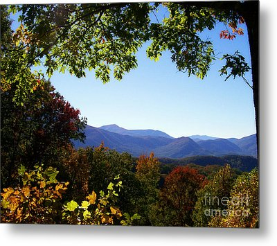 Smoky Mountains Metal Print by Lena Auxier