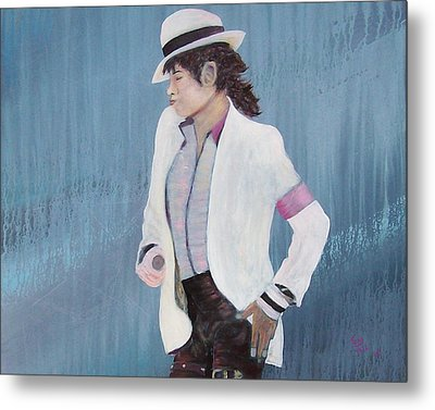 Smooth Criminal Metal Print by Tony Rodriguez