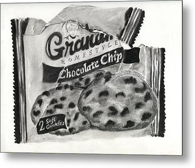 Snack Time Metal Print by Penny Everhart
