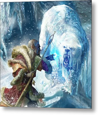 Snap Freeze Metal Print by Ryan Barger