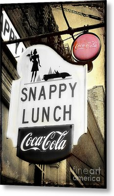 Snappy Lunch Metal Print
