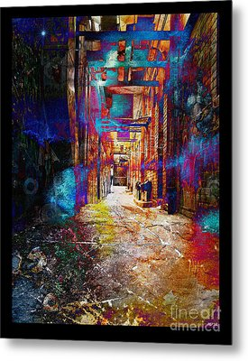 Metal Print featuring the photograph Snickelway Of Light by Phil Perkins