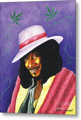 Snoop Dogg Metal Print by Kristi L Randall