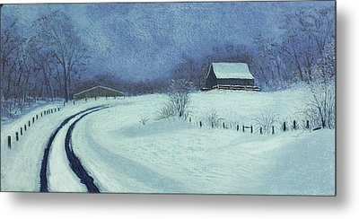 Snow Bound Metal Print by Garry McMichael
