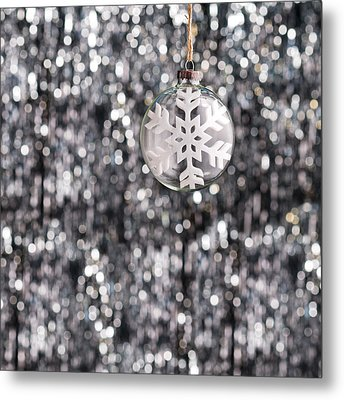 Metal Print featuring the photograph Snow Flake by Ulrich Schade