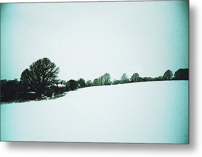 Snow In Sussex Metal Print