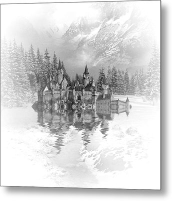 Snow Palace Metal Print by Sharon Lisa Clarke