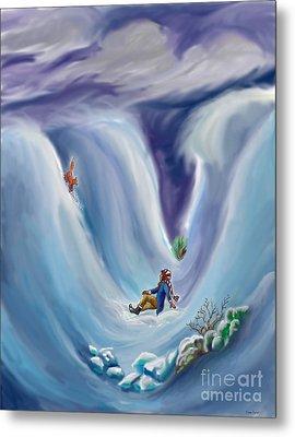 Snow Tang - Story Illustration 6 - Age 12 Metal Print