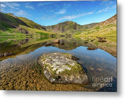 Metal Print featuring the photograph Snowdonia Mountain Reflections by Adrian Evans