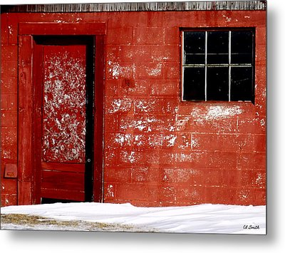 Snowed In Metal Print by Ed Smith