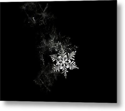 Snowflake Metal Print by Mark Watson (kalimistuk)