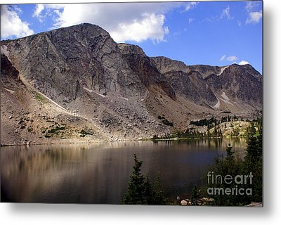 Snowy Mountian Loop 8 Metal Print by Marty Koch
