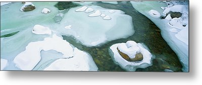 Snowy River In New Hampshire Metal Print by Panoramic Images